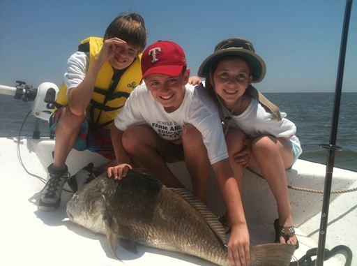 Inshore fishing charter guide on mobile bay gulf shores for Mobile alabama fishing charters